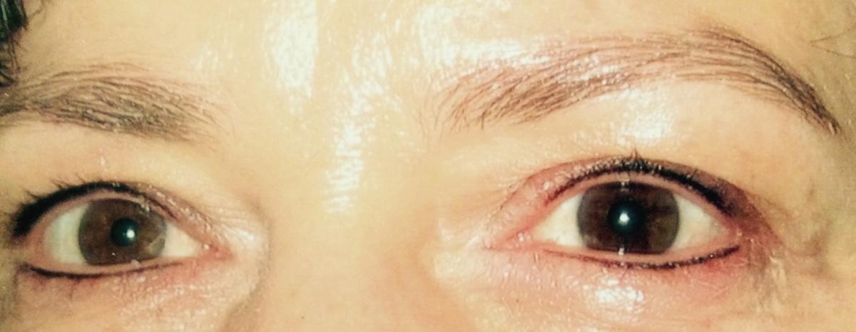Eyeliner oben und unten